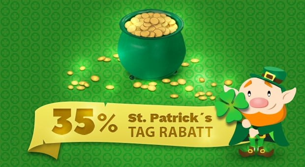 St. Patrick's Day mit MotoCMs feiern