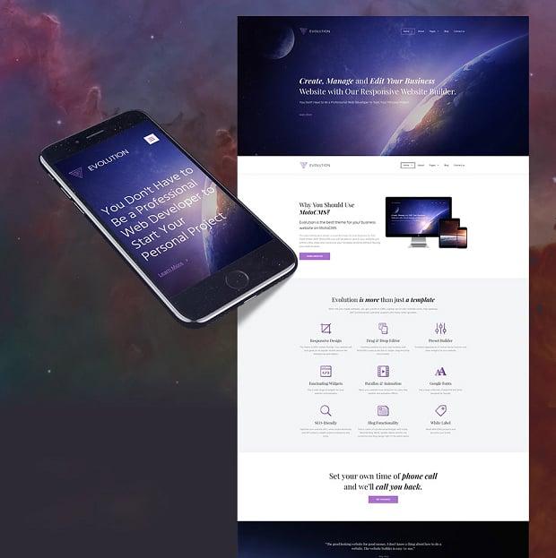 How to make a business website - evolution