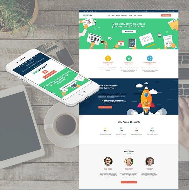 How to make a business website - seqagent