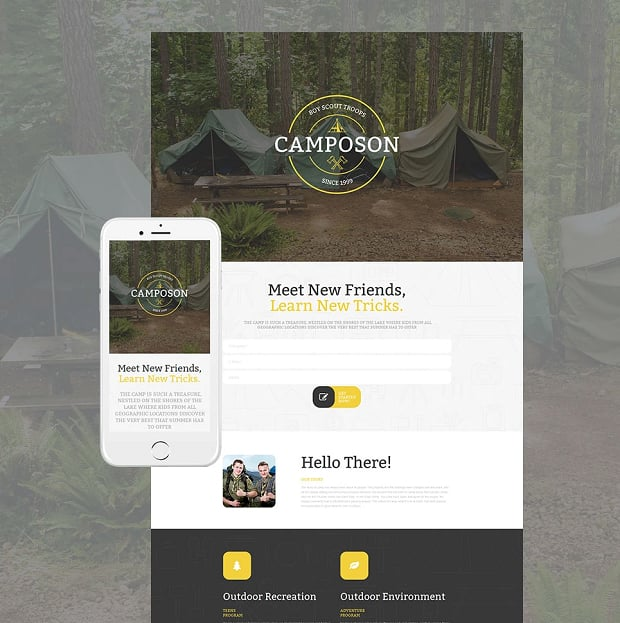 How to make a family website - camposon