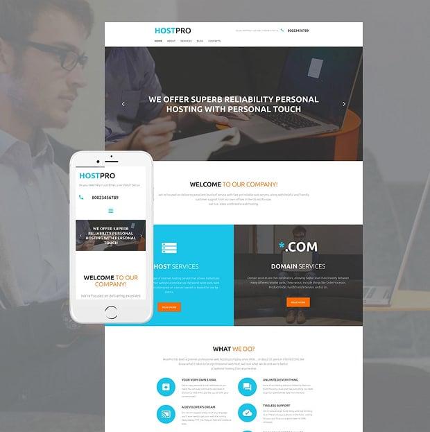 How to make a hosting website - hostpro