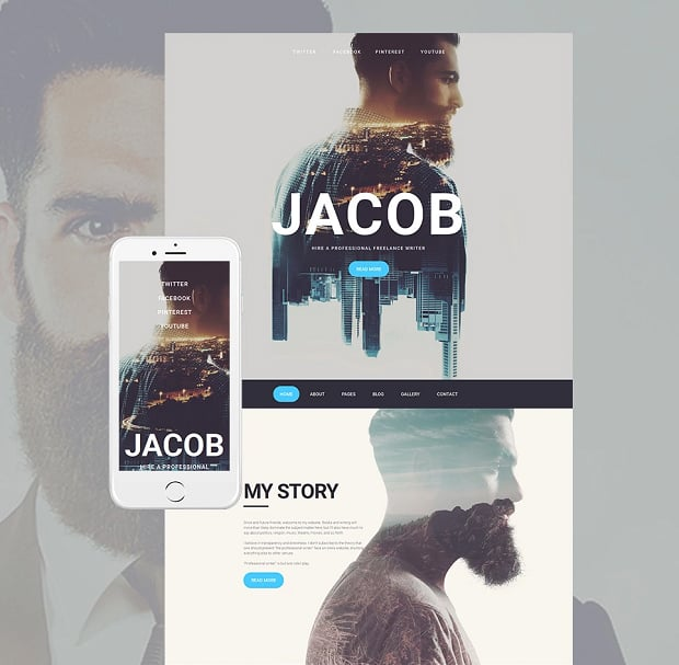 How to make a photography website - jacob