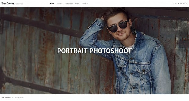 How to make a photography website - tom cooper