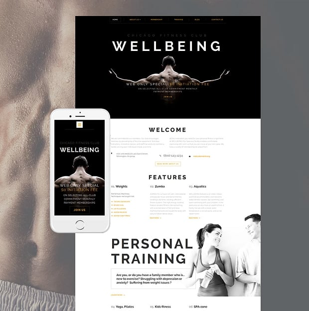 How to make a sports website - wellbeing