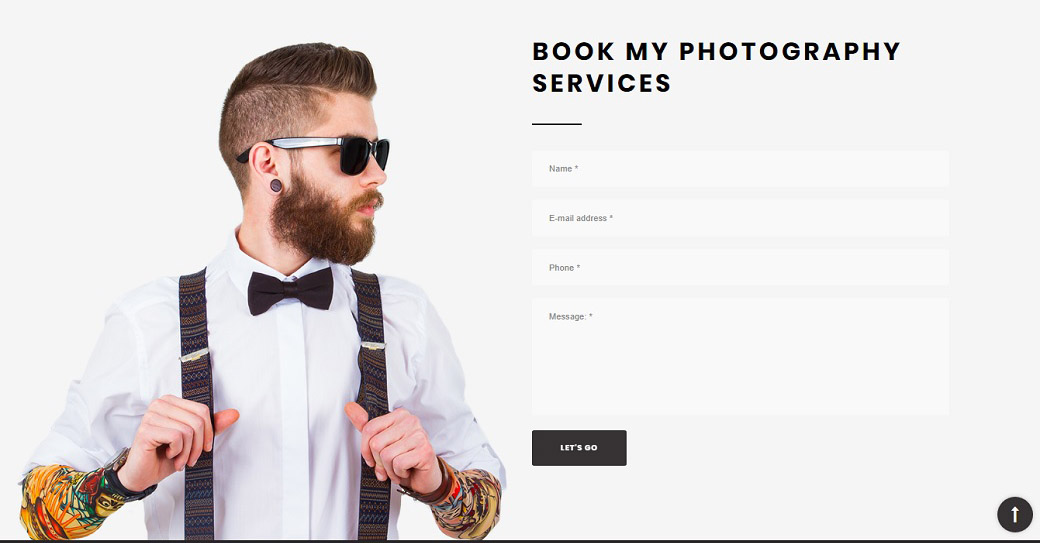 Must-Have Components to Create a Website for Photographer