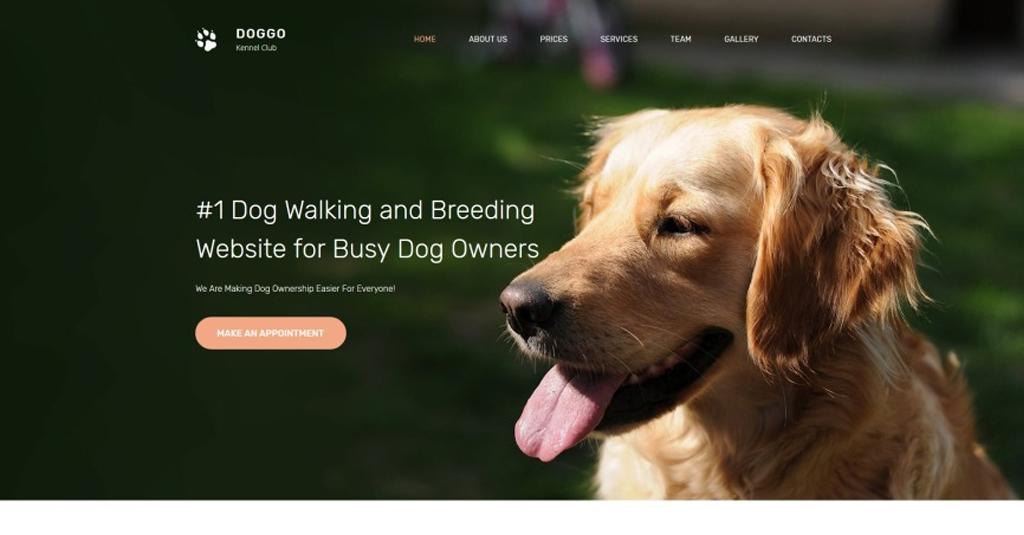 labrador website vorlage für züchter