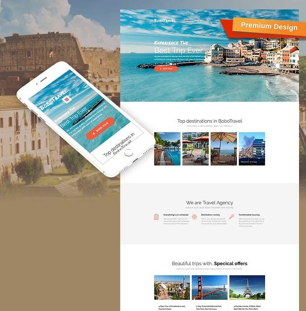 How to make a travel website - bobotravel