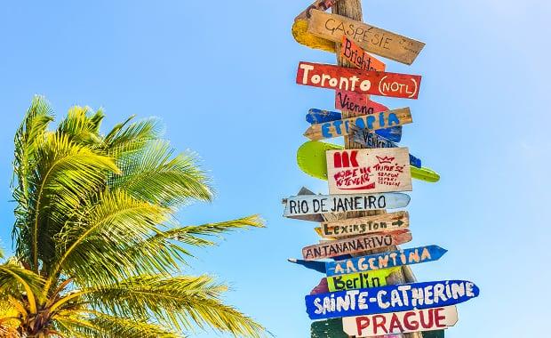 How to make a travel website - main