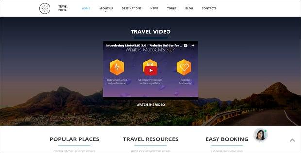 How to make a travel website - travel portal