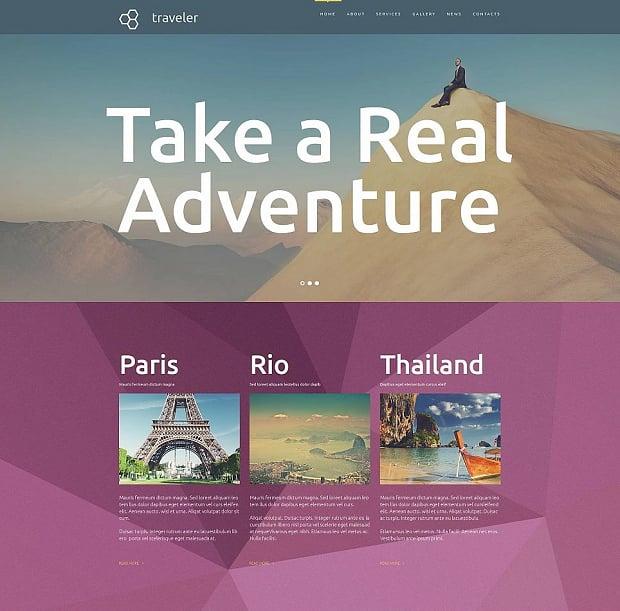 How to make a travel website - traveler