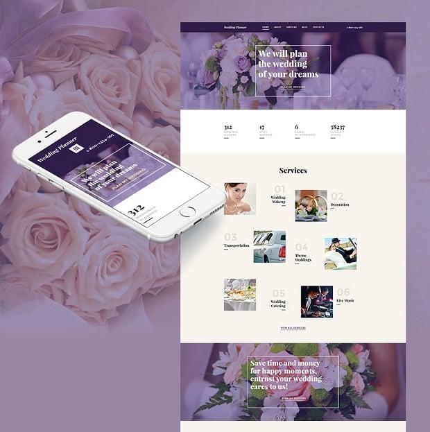 How to make a wedding website - wedding planner