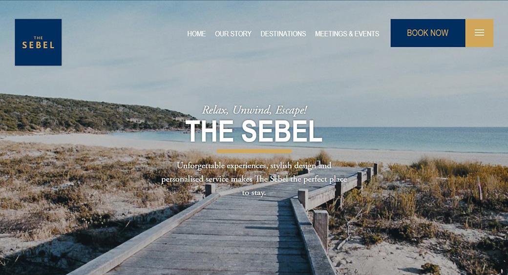 Сайт австралийского отеля Sebel Pier One изображение