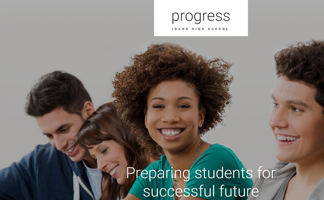 Шаблон для сайта старшей школы