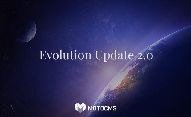 Evolution Homepage-Vorlage von MotoCMS