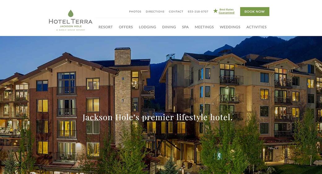hotel terra цвета изображение