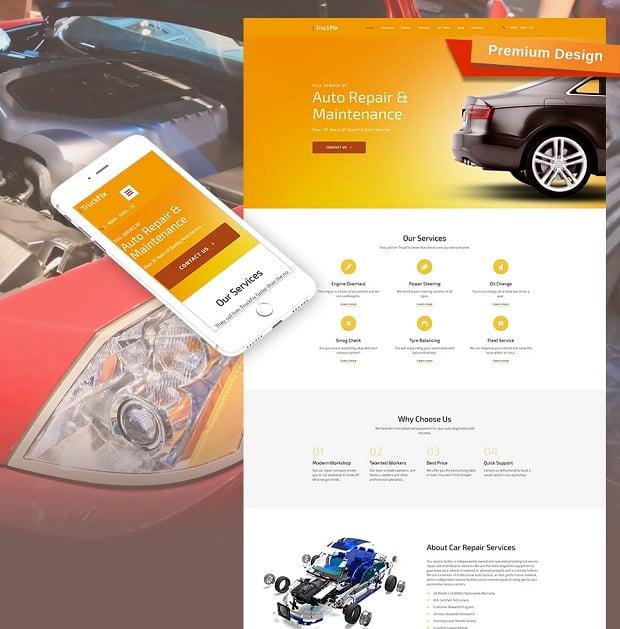 How to make a car website - truckfix