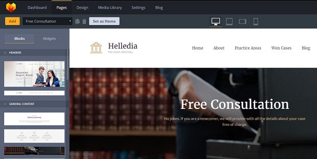 How to make a law website - consultation
