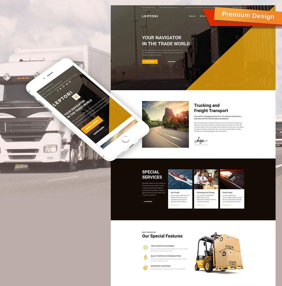 How to make a transportation website - leptori