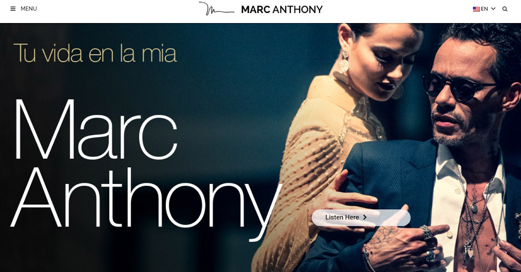 marc anthony offizielle website