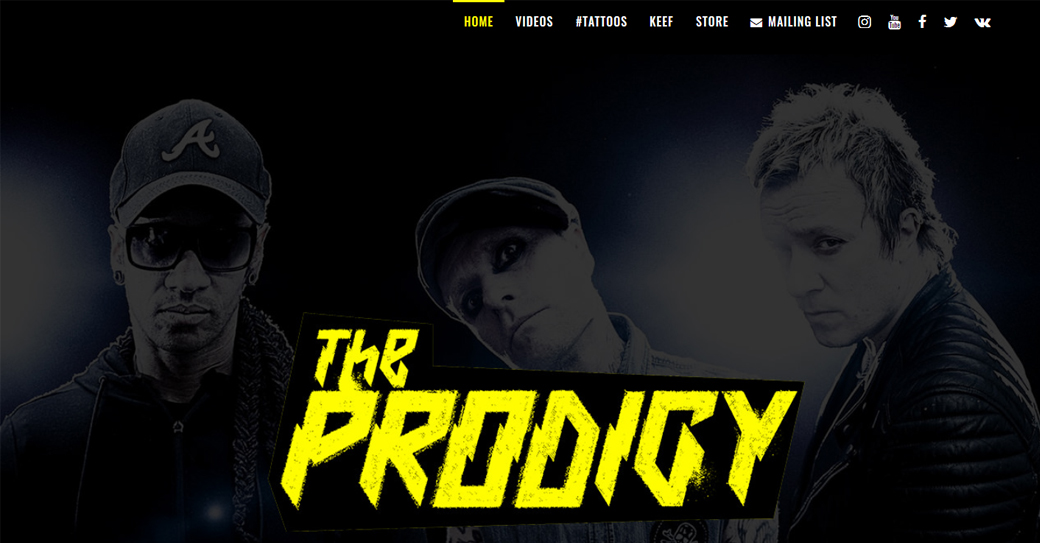 the prodigy offizielle homepage