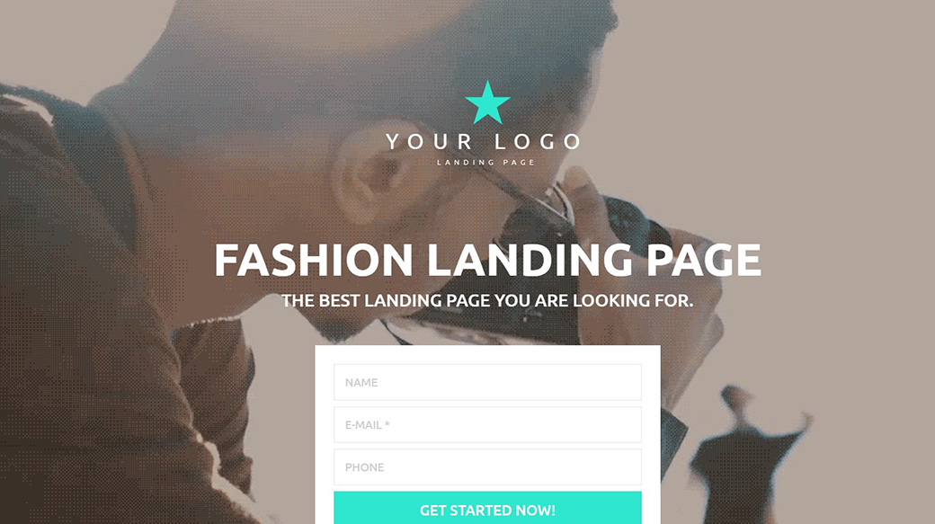 Шаблон для индустрии моды