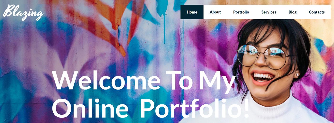 Creative Website Template