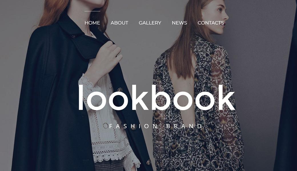 HTML шаблон сайта Lookbook