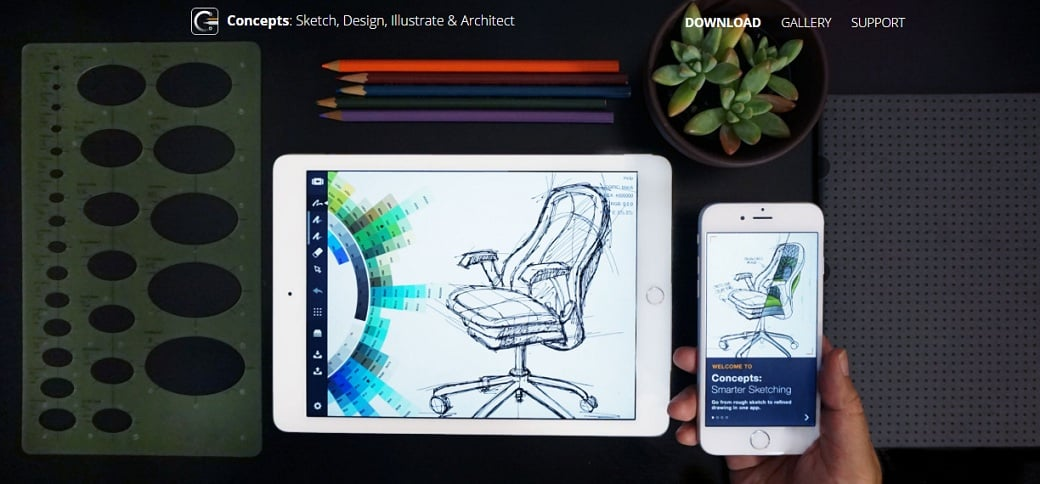 Free drawing apps - concepts