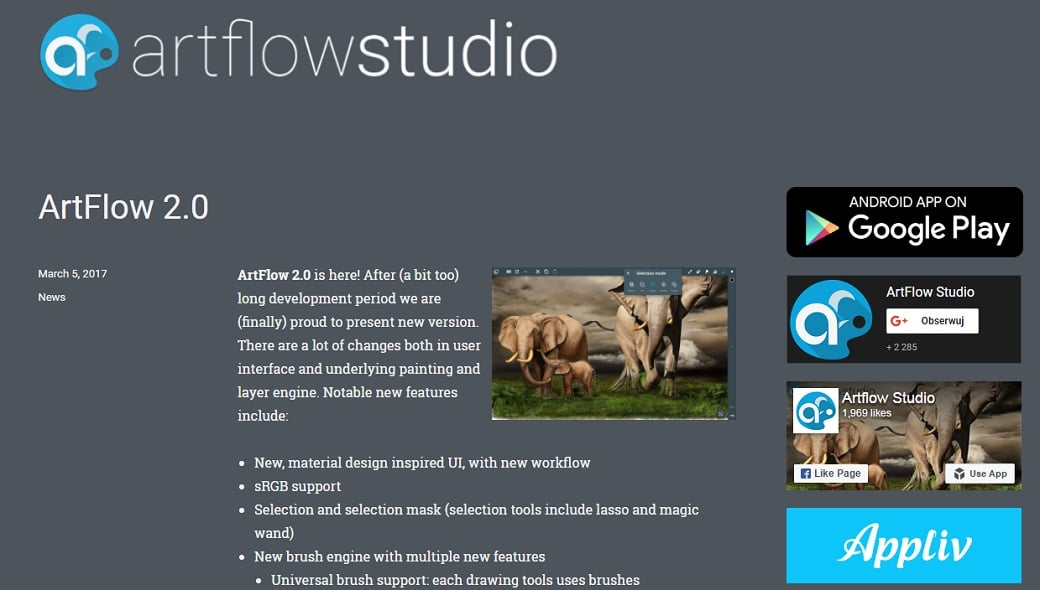 Free drawing apps - arflow