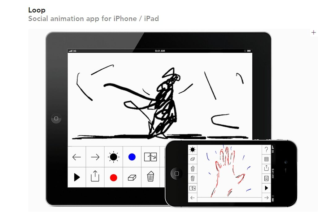 Free drawing apps - loop