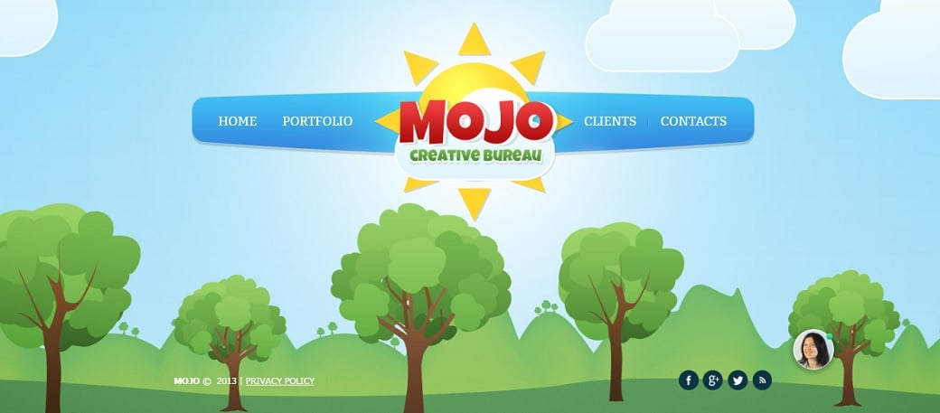 How to make a web design website - mojo