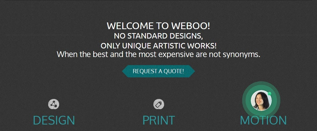 How to make a web design website - weboo