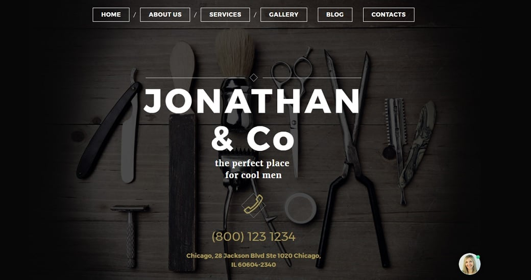 How to make a beauty website - jonathan theme