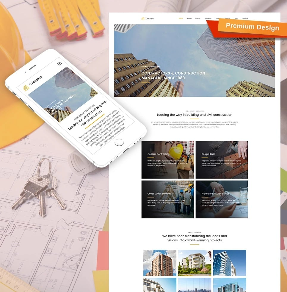 How to make an architecture website - createso