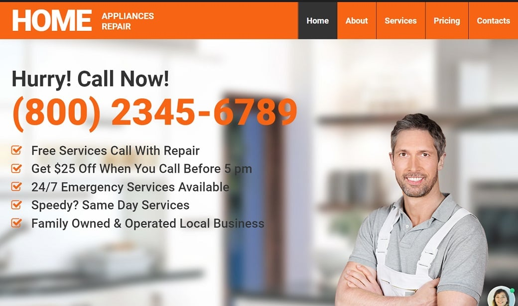 How to make a maintenance website - home pepair