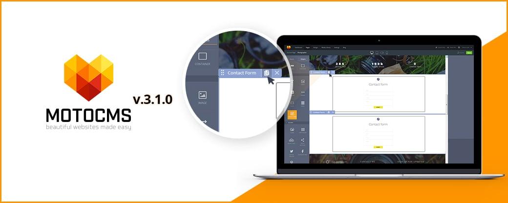 MotoCMS Update 3.1.0 wurde veröffentlicht