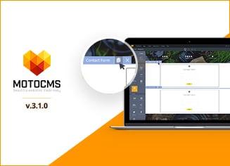 Das MotoCMS Update 3.1.0: Duplizieren, Kopieren, Einfügen von Widgets