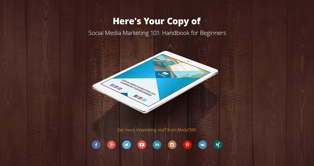 Social media ebook - preview