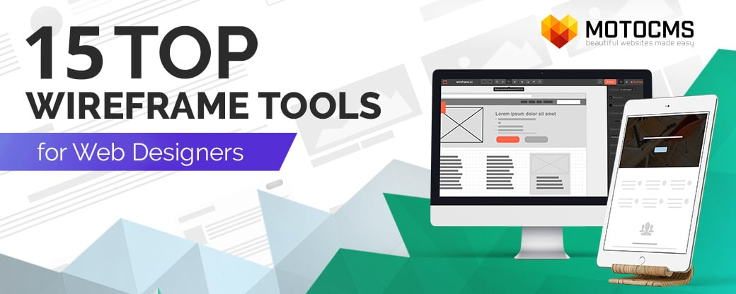 Top wireframe tools - main image
