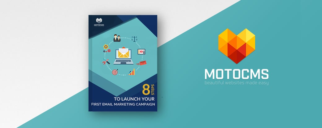 Free motocms eBook on email marketing - main image