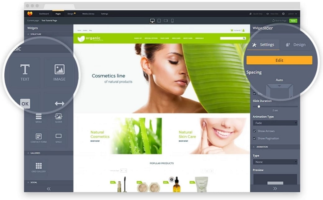 Ultimate cms comparison - MotoCMS website builder