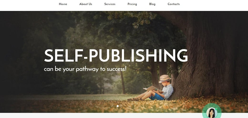 How to make a book website - self publishing