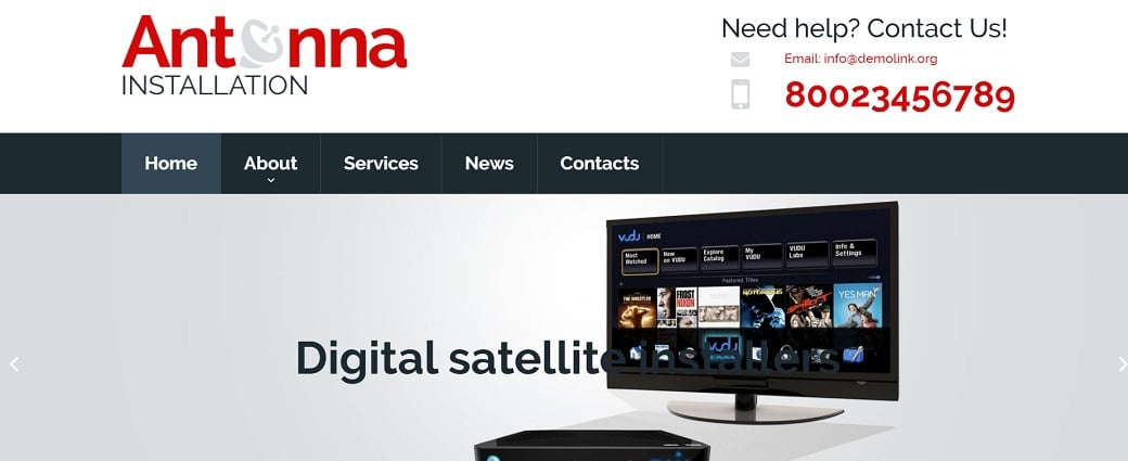 How to make a communications website - antenna home