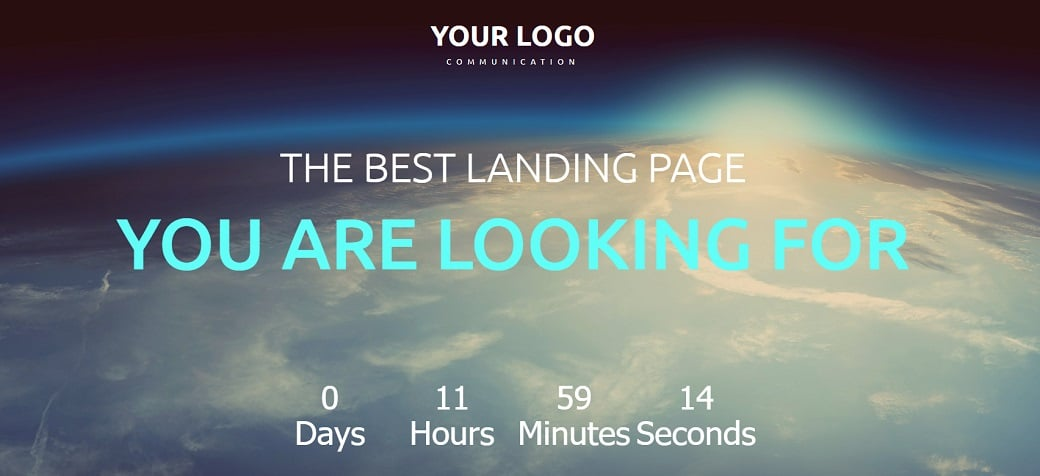 How to make a communications website - landing page