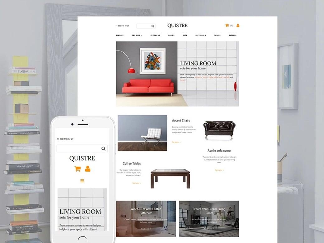 How to make a furniture website in 7 fast steps Home furniture online websites