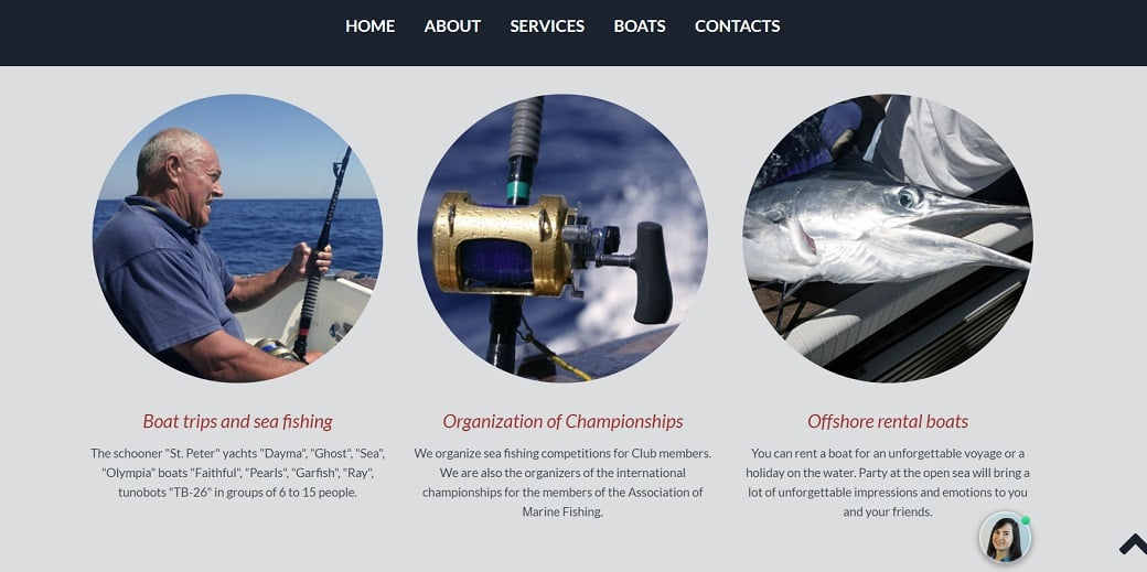 How to make a hobby website - sea fishing community