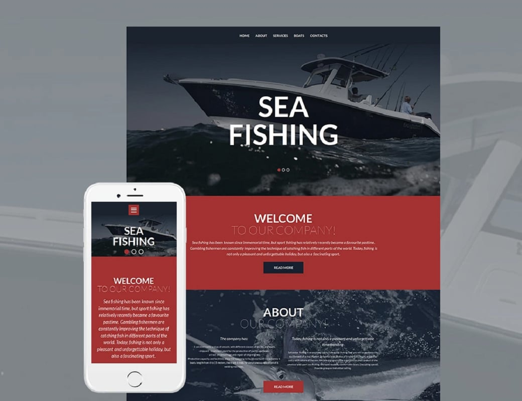 How to make a hobby website - sea fishing