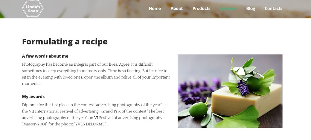 How to make a hobby website - recipe