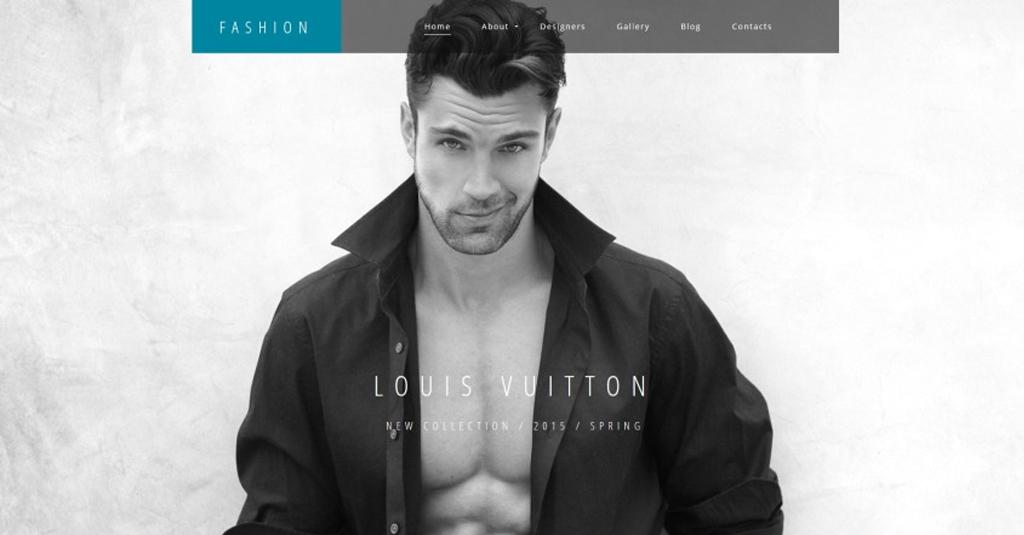 mode blog erstellen fashion website vorlage