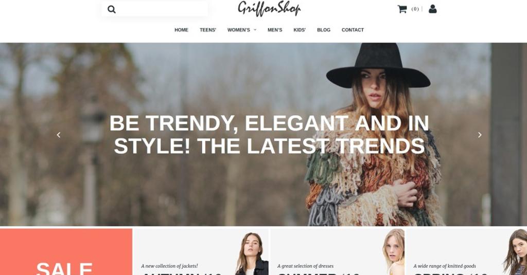 mode blog erstellen template für einen blog
